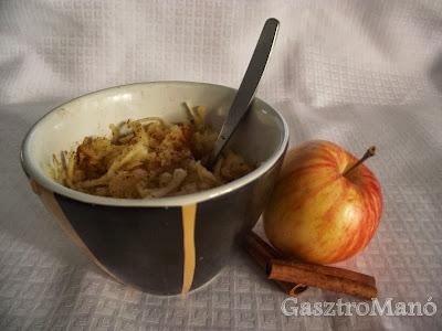 Almás fahéjas zabkása