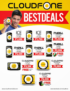 Christmas Sale on Mobile Phones in the Philippines, Cloudfone