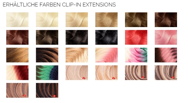 Rubin Clip In Extensions