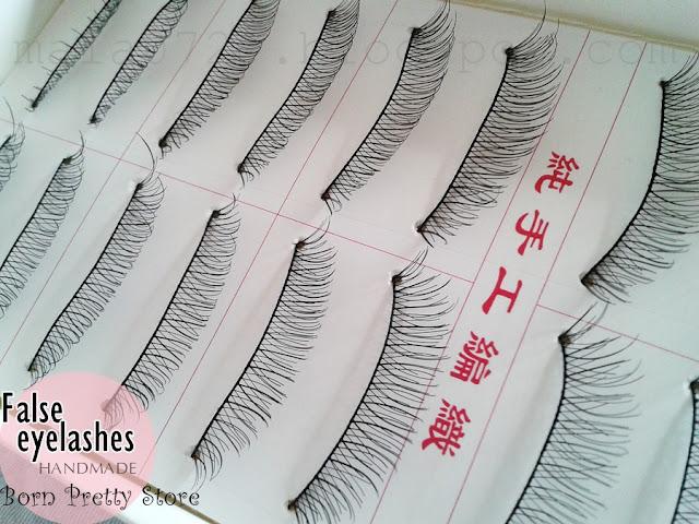 chińskie szcztuczne rzęsy