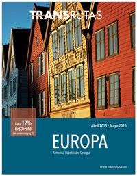 Catálogo Transrutas Europa 2015