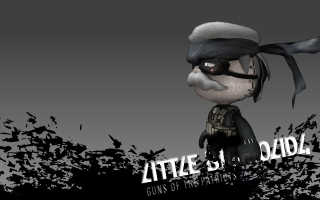 little big planet metal gear solid game