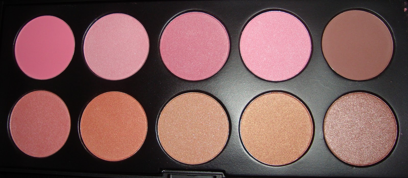 crown brush palette. crown brushes blush palette brush