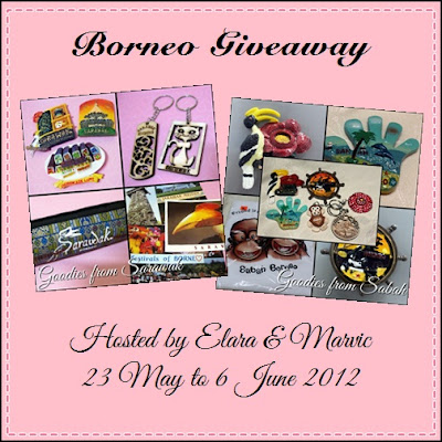 Borneo Giveaway by Elara & Marvic Banner