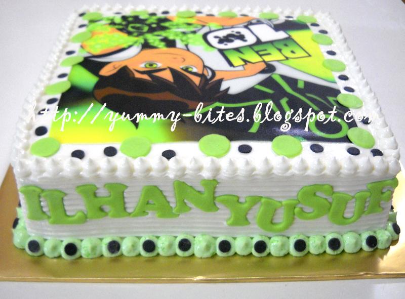 Yummy Bites Ben10 Cake For Ilhan Yusuf