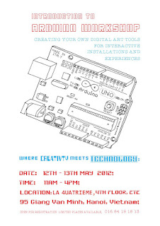 Arduino workshop poster