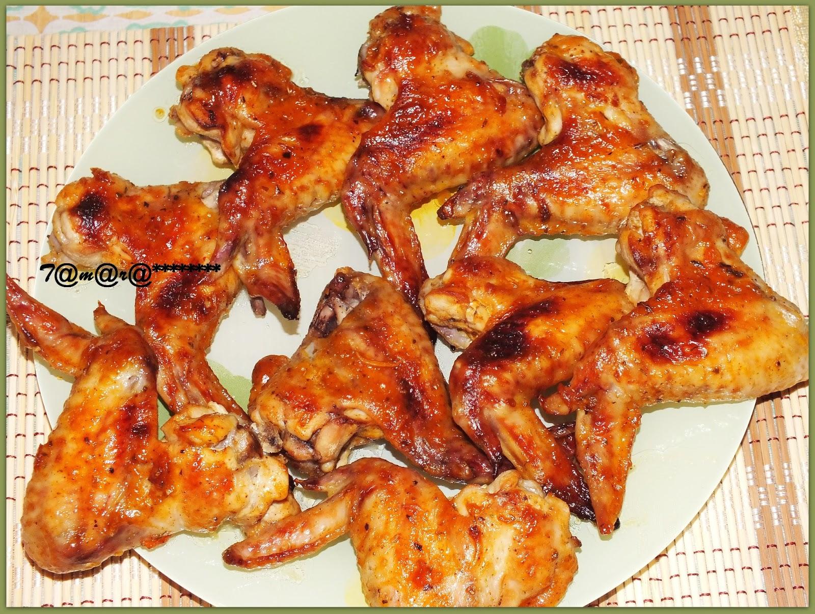 Крылышки к пиву в духовке рецепт пошагово в