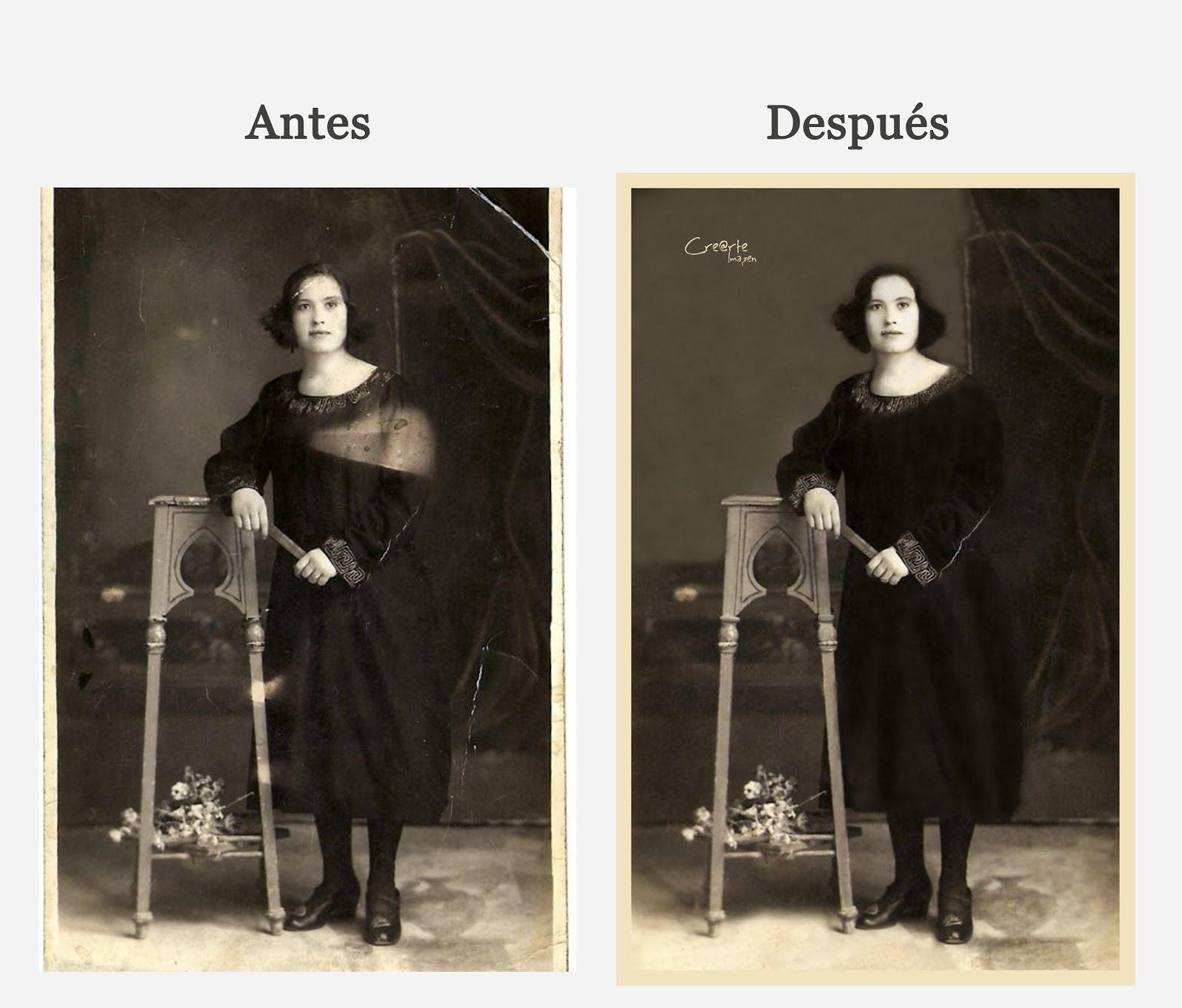 Restauranción Fotos Deterioradas