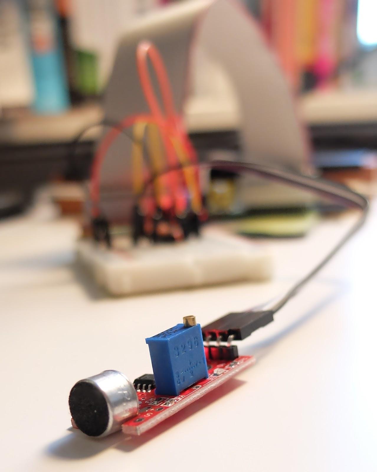 Marc Andreu Fernandez Wiringpi Java Library Microphone Sensor