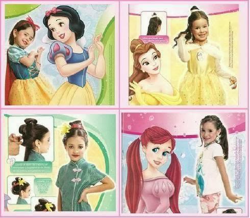 Revista Princess Girl Peinados - princess magic peinados infantiles Facebook