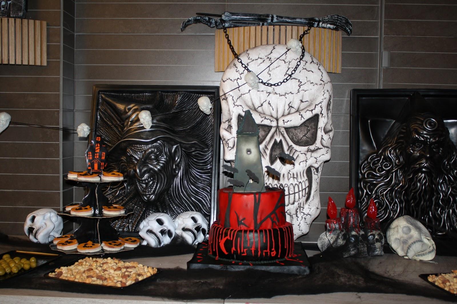 Las tartas de paz esto es halloween for Articulos decoracion halloween