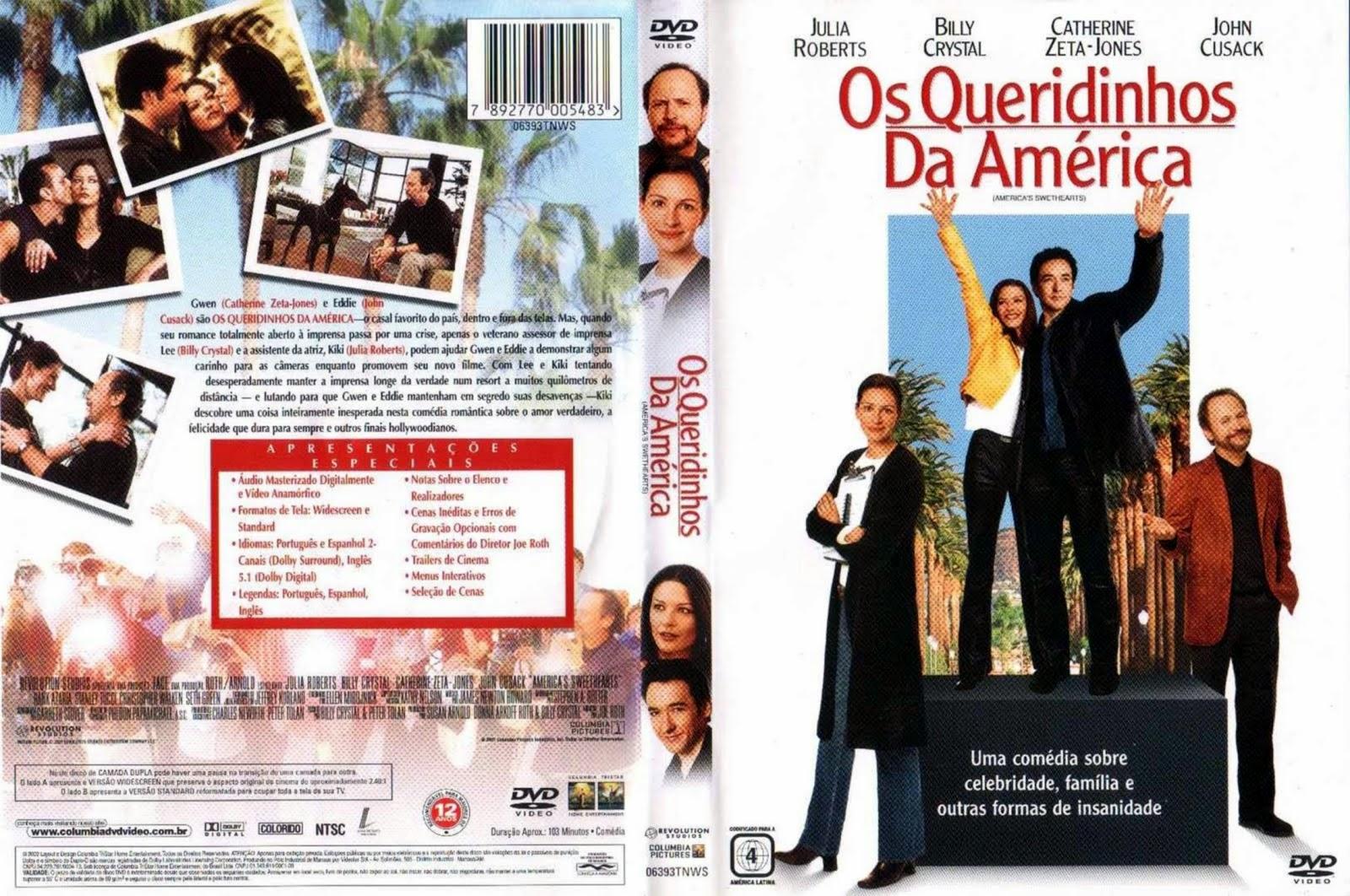 Capa DVD Os Queridinhos Da América