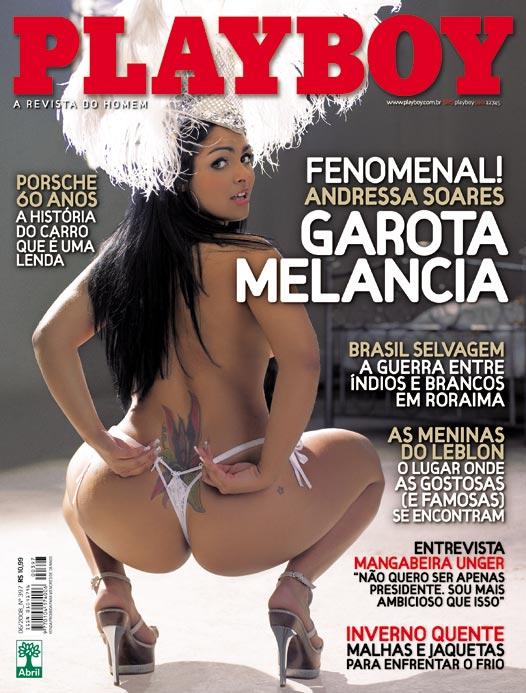 Confira a s fotos da mulher melancia, Andressa Soares, capa da Playboy junho de 2008!
