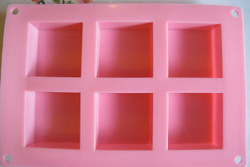 SQUARE SILICONE CAKE PAN