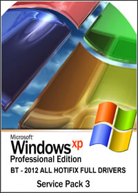 filme Windows XP SP3 – 2012 All Hotfix Full Drivers