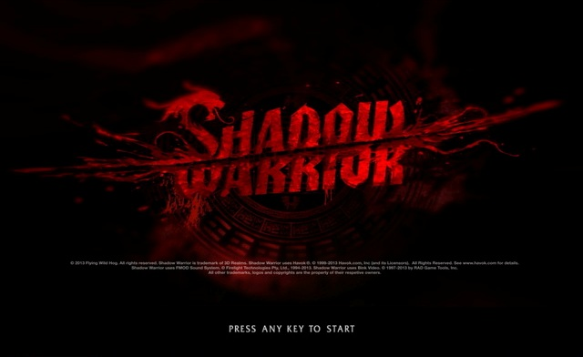 Shadow Warrior PC Games Gameplay