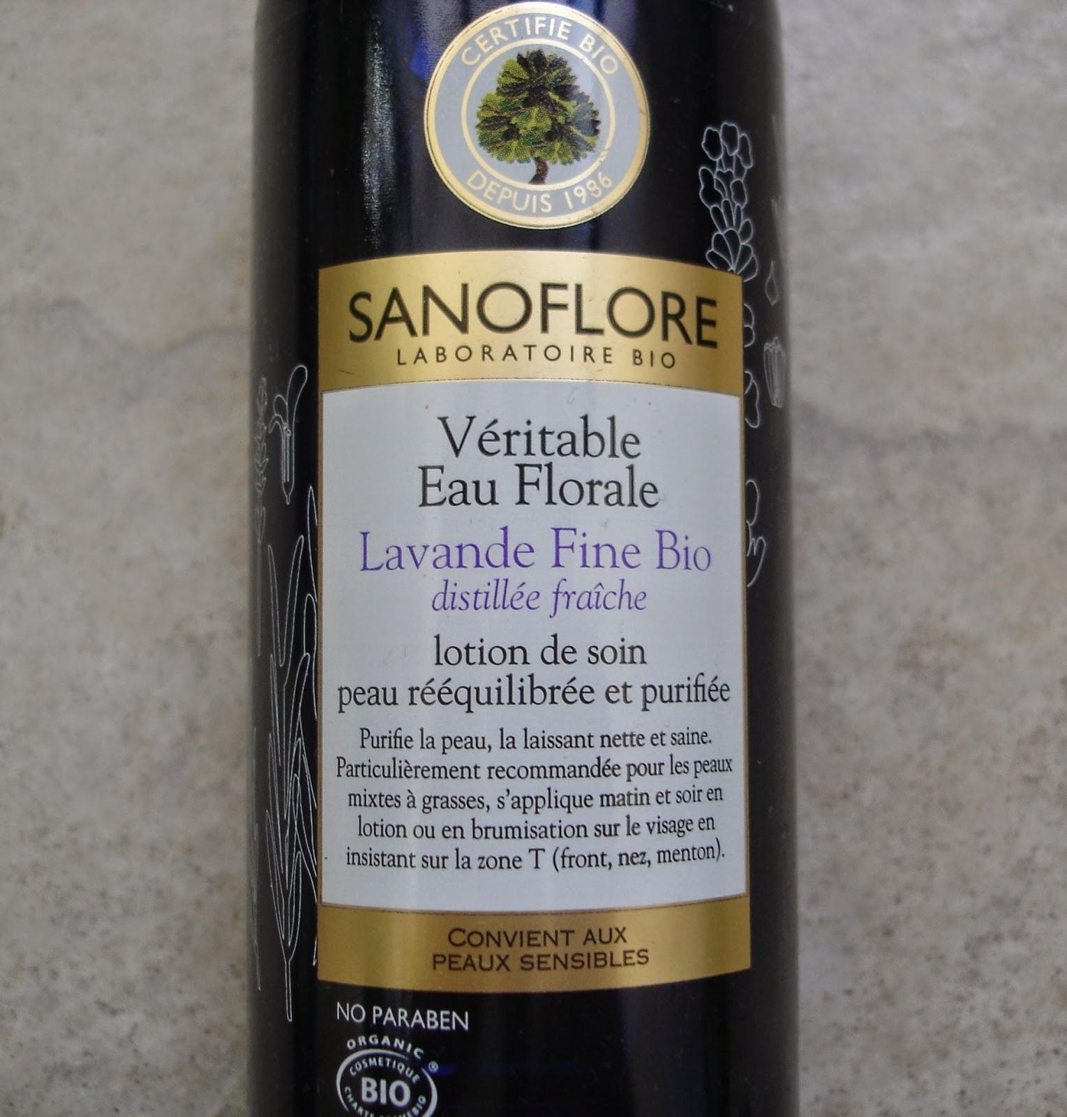 Sanoflore Eau Florale de Lavande Fine