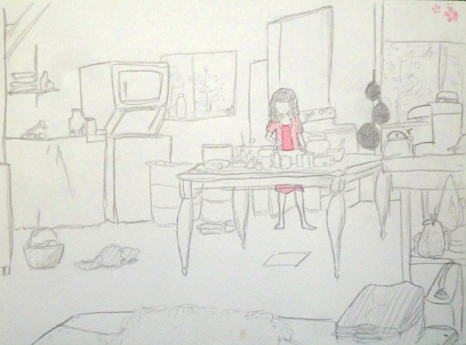 drawing by Natsumi Sasajima
