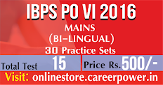 IBPS PO MAINS with Practice Sets