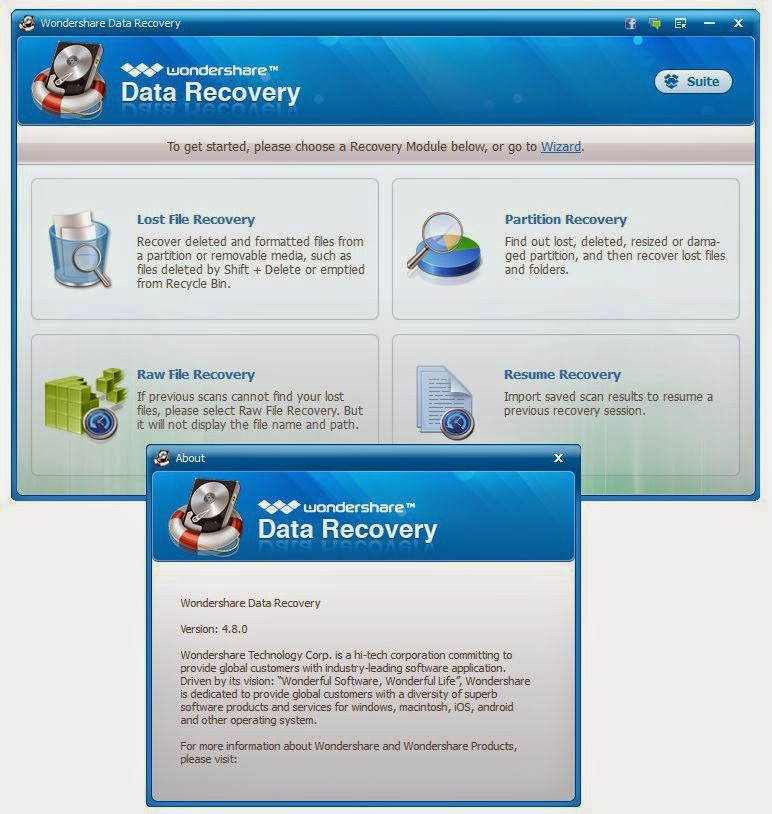Wondershare Data Recovery 6.6.1 Final + Crack + keys (FULL ...