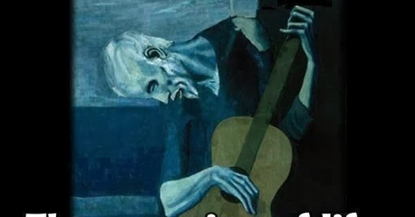 Pablo Picasso on The Meaning of Life with Guitar Painting