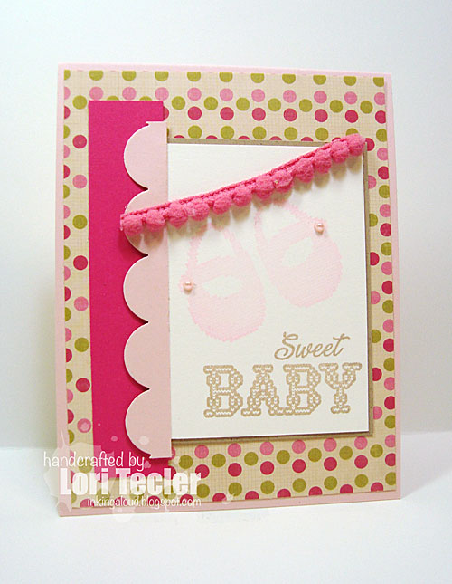 Sweet Baby card-designed by Lori Tecler/Inking Aloud-stamps from Waltzingmouse Stamps