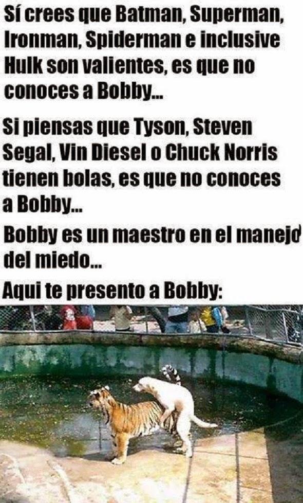 ¡Buena Bobby