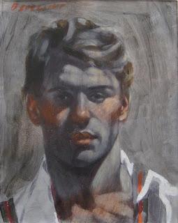 Portrait+Study+of+Nicholas+oil+on+canvas