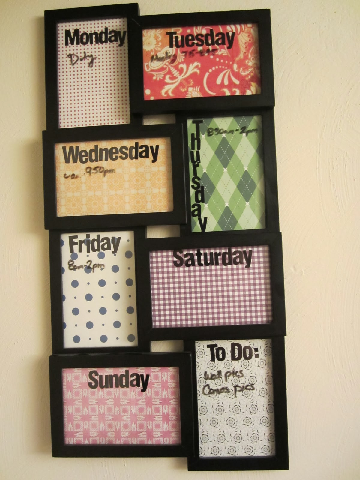 Diy Calendar For Boyfriend : Sparkle mine school diy crafts to deck out