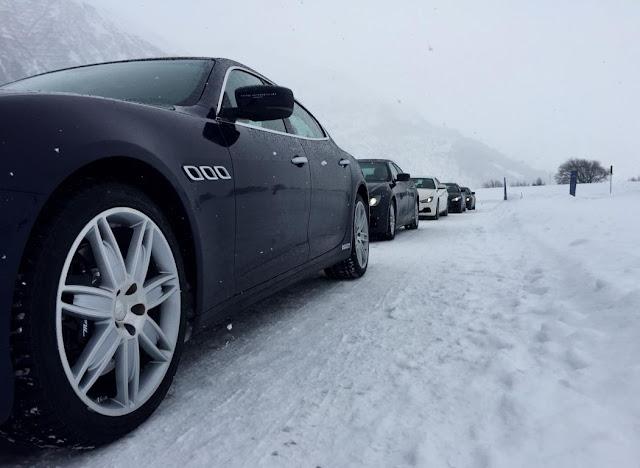Winter drive switzerland
