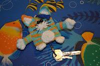 Котик ключница