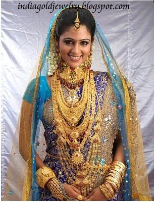 Muslim Bridal Jewellery from Chemmanur Jewellers
