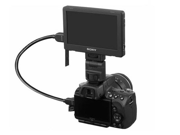 LCD Monitor Video Clip-On Sony CLM-V55