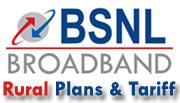 BSNL Broadband Rural Internet Plans