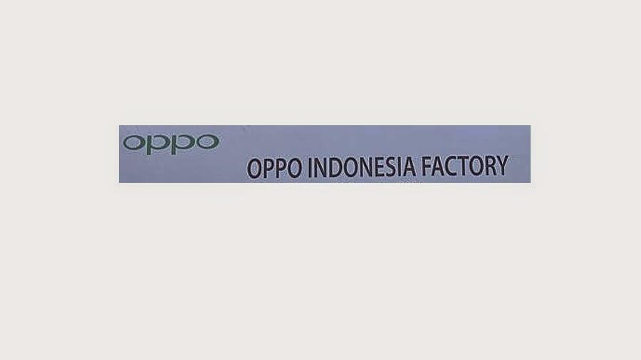 Pabrik Oppo Beroprasi Mei