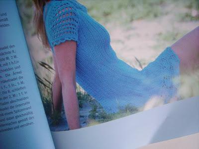 sommer kleid blau