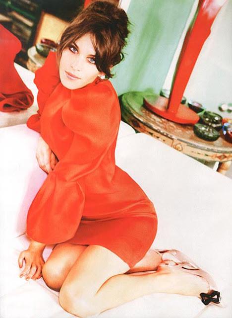 Alexa Chung sixties style