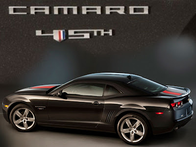 Camaro Black on 2012 Chevrolet Sports Cars Camaro 45th Anniversary Edition   Sport