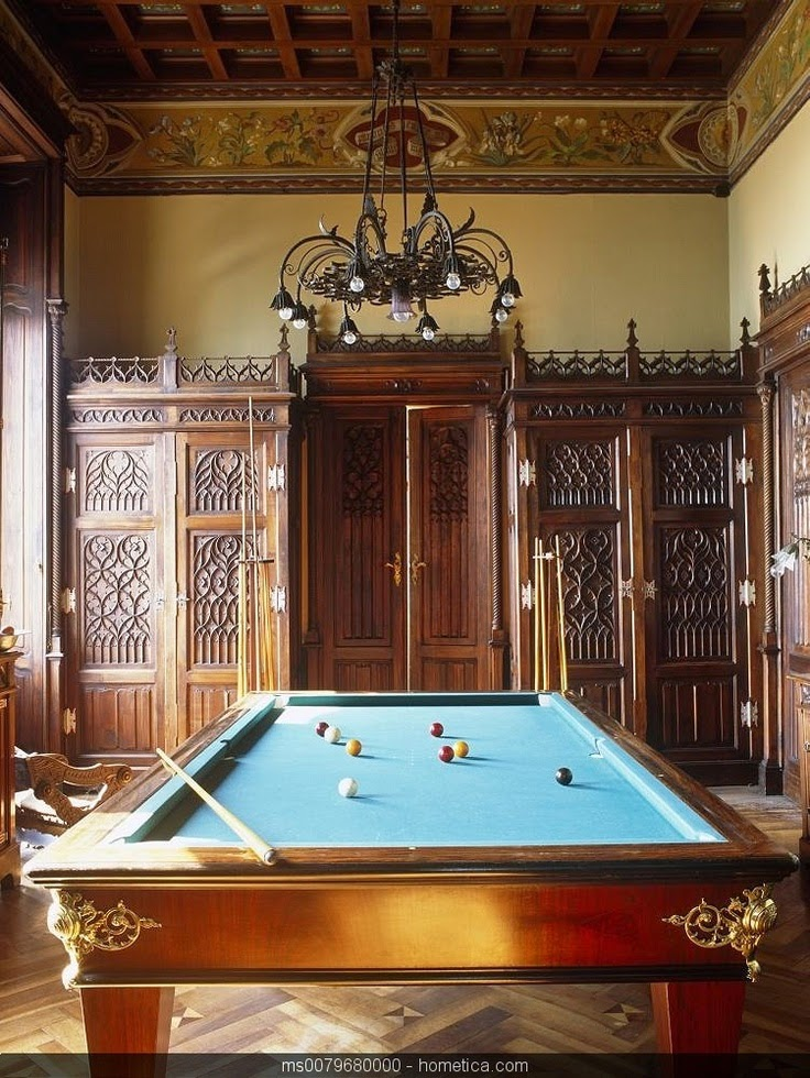 Willowbrook park billiard table for Pool table room design