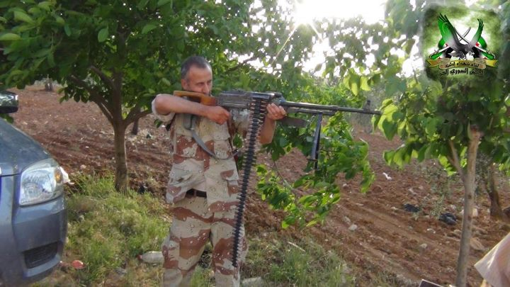 الشهيد الرقيب أول المنشق محمود عبد القادر