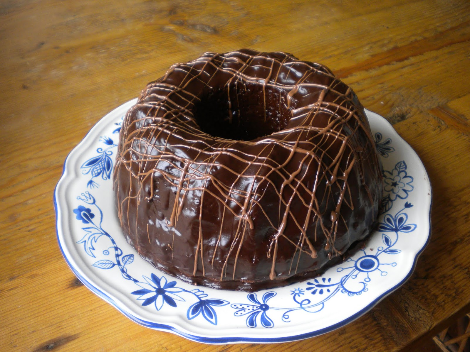 Conny Bakes: Marbled Chocolate Ring Cake