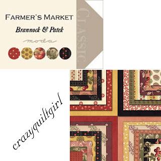 Moda FARMERS MARKET Quilt Fabric by Brannock & Patek