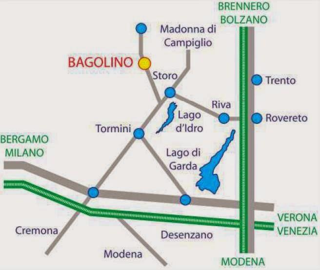 Come arrivare a Bagolino