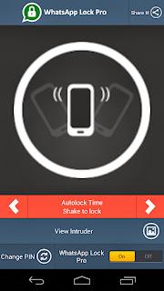 WhatsApp Lock Pro v2.3