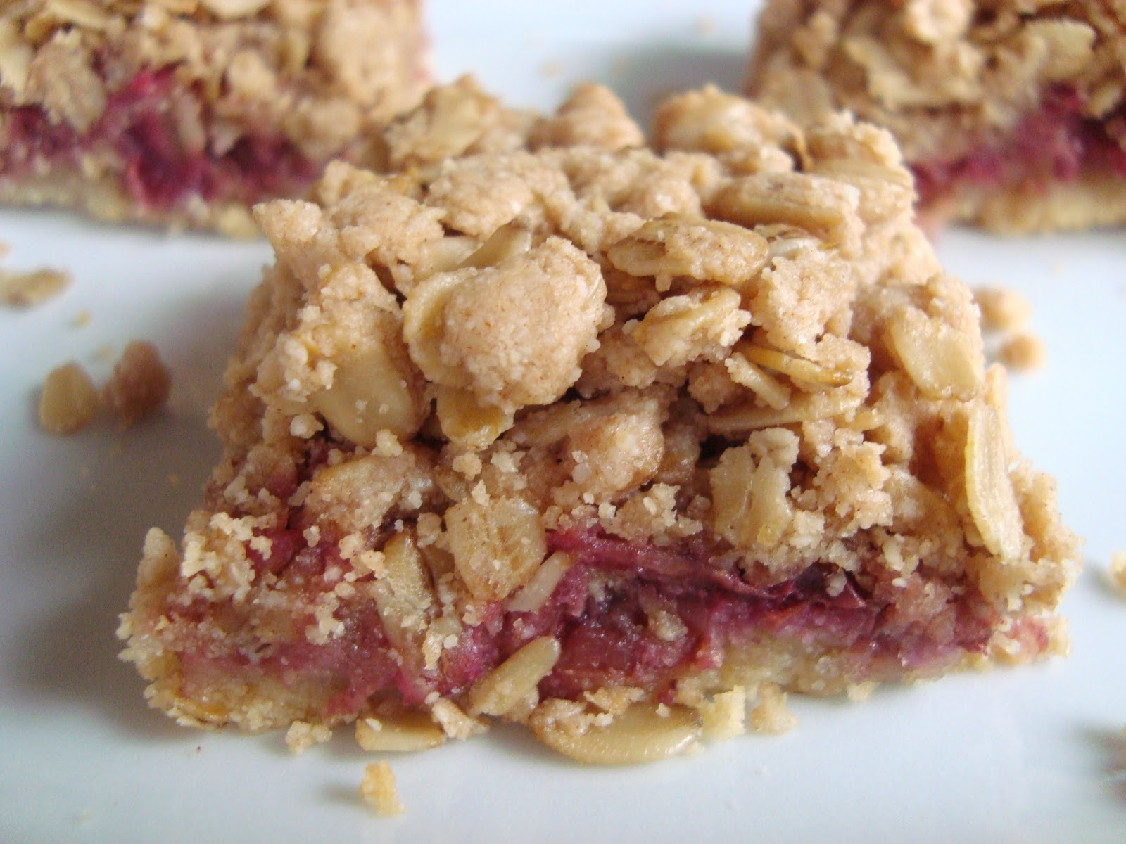 Pocketfuls: Cranberry almond crumble squares (gluten, dairy, and egg ...