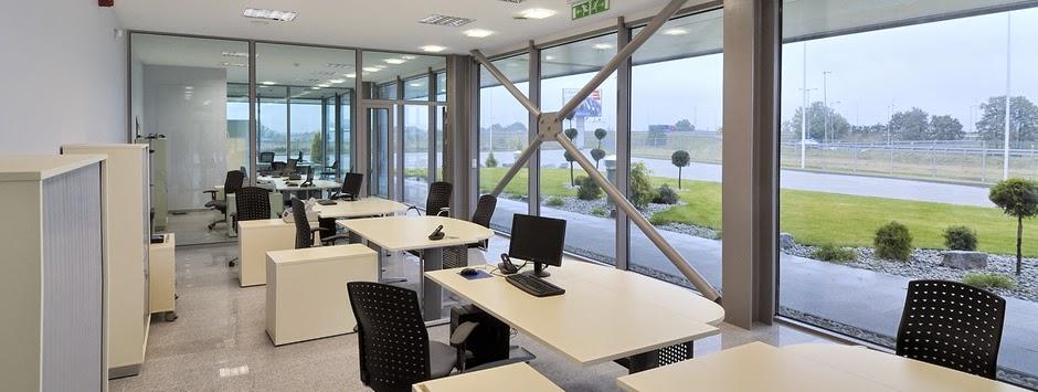 budova kanceláře jako montovaná hala