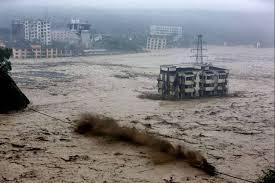 Inundaciones y deslizamientos de tierra en varias regiones del centro, sur y noroeste de China, que afectan a unos dos millones de habitantes, 14 de Julio 2013