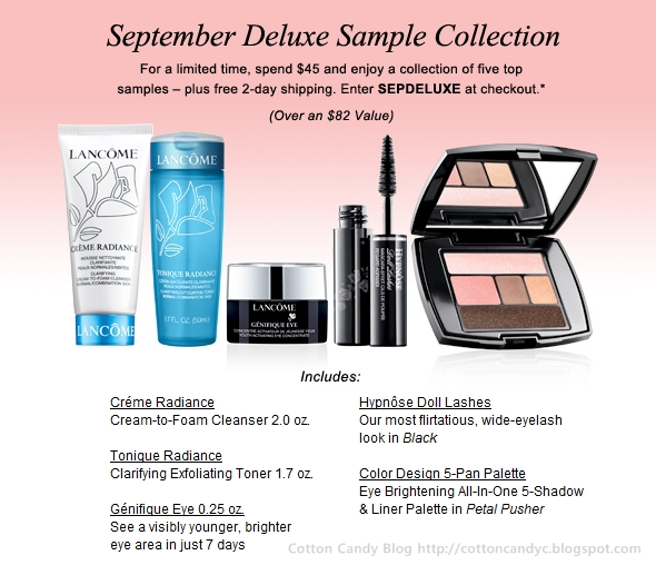 Lancôme 5-Piece Gift with Purchase + Free 2-Day Shipping