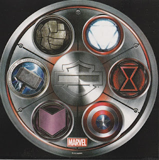 Harley-Davidson's Avengers sticker