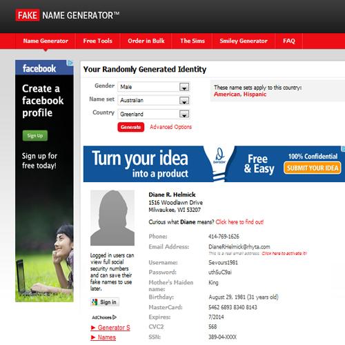 Celebrityfake Websites